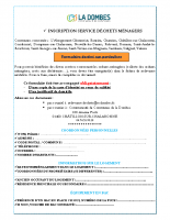 Formulaire inscription particuliers redevance incitative